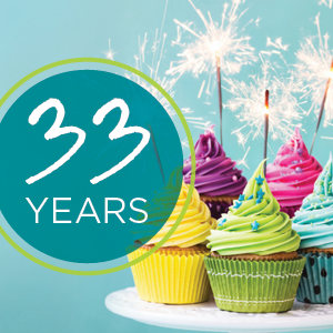 Honoring Our Past and Celebrating Our Future 33 Years of Worry Less Live More