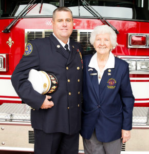 Resident Helen Clayton Maintains a Burning Passion for Service