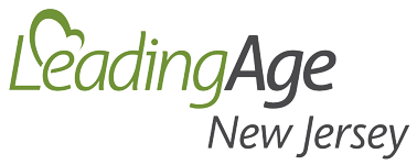 leading age new jersey logo in grey and green